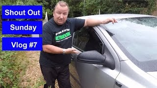 Shout Out Sunday Vlog #7 And  Caravan Work
