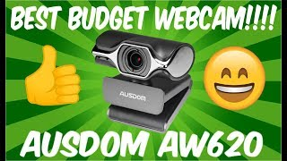 AUSDOM 1080p WEBCAM REVIEW | BEST BUDGET WEBCAM!!!