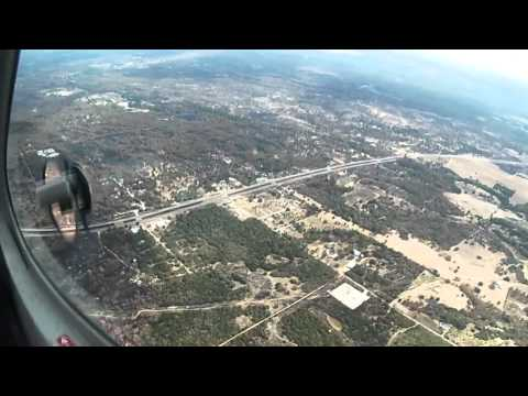 Bastrop Texas Fire Aftermath - Aerial View