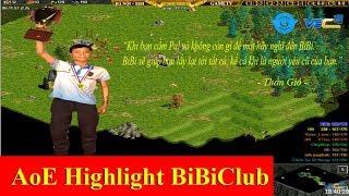 AoE Highlight BiBiClub || BiBi cầm Pal chém 3 nhà GameTV khiến người người oán than