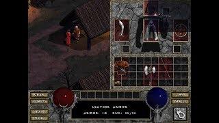 Diablo 1 - Walkthrough - Level 3 - Leather Armor Purchased - 2018-10-13
