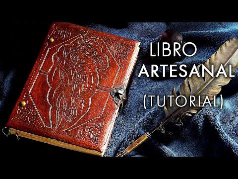 Cómo hacer un libro artesanal. Tutorial de encuadernación How to make a handmade book
