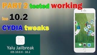 Top 5 Jailbreak Cydia Tweaks Ios 10.2  TESTED-PART 2|