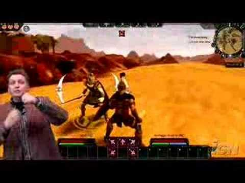 Age of Conan Combat Mechanics