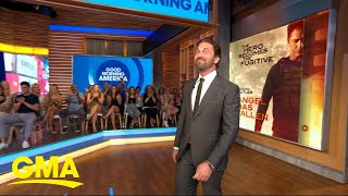 Gerard Butler talks new action hero film 'Angel Has Fallen' | GMA