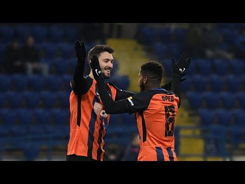 Shakhtar 4-0 Veres. Highlights (29/11/2017)
