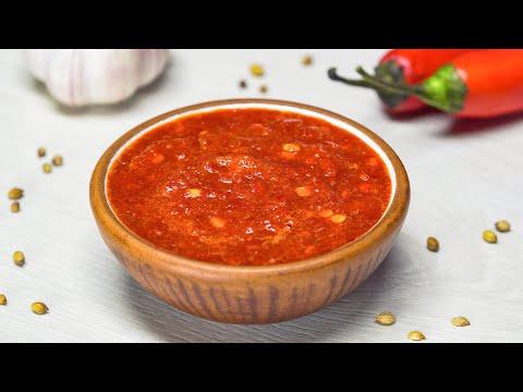 Рецепт самой вкусной аджики. Абхазская кухня