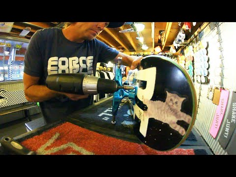 Setting Up A Brand New Revive Skateboard!!!