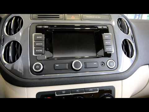 BRAND NEW REDESIGNED 2012 Tiguan SE 4MOTION tutorial video from Trend Motors VW in Rockaway, NJ