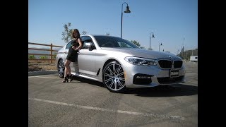"2018 BMW 540i with M Sport Package / 20"" M Wheels / Rhodonite Silver / BMW Review"