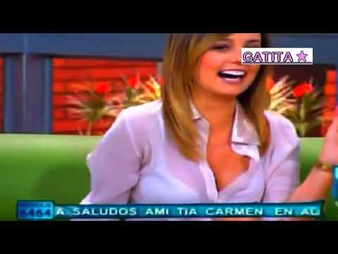 laura acuña & milena lopez en blusa transparente!!