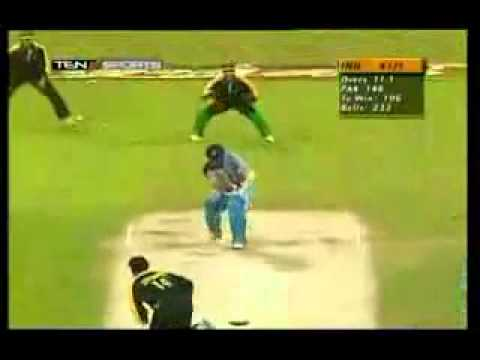 Fastest Delivery by Shoaib Akhtar Traps Sachin Tendulkar