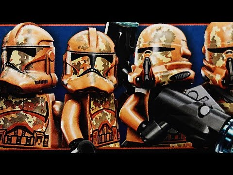 LEGO Star Wars Geonosis Troopers Battlepack (Timelapse & Review) - Set 75089