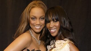 Tyra Banks vs Naomi Campbell Runway
