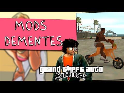 GTA SAN ANDREAS MODS DEMENTES #01