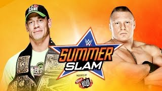 Exclusive Details On John Cena vs Brock Lesnar Summerslam 2014 WWE World Heavyweight Title Clash
