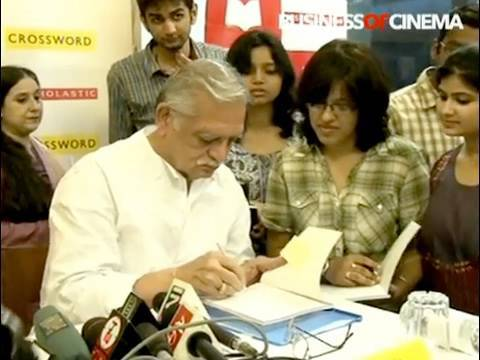 Gulzar Launches Book - Potli Baba Ki Kahani video