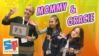 MOMMY AND GRACIE Play NEWLY FRIEND GAME at TTPM Toy Even! | Sneak Peek