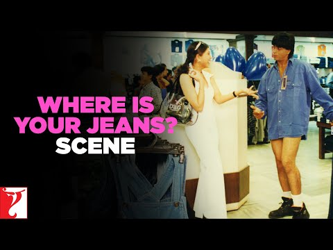 Where is your Jeans? - Comedy Scene - Dil To Pagal Hai