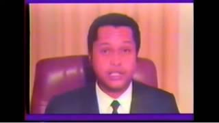 7 février 1986, discours d'adieu de Jean-Claude Duvalier