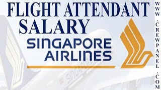 Flight Attendant Salary Singapore Airlines | How much does a flight attendant make in Singapore
