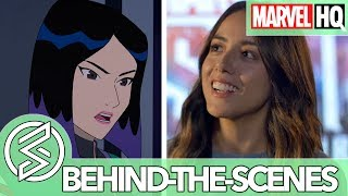 Who is Quake? With Chloe Bennet | Marvel Rising: Initiation | FEATURETTE
