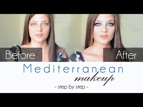 Mediterranean Makeup Tutorial / Monica Bellucci Inspired Look