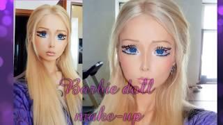 Valeria Lukyanova - tutorial  barbie doll make up  メイクアップ 化妝
