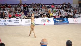 Maria Titova (Russia). Clubs. Grand Prix Holon (Israel) 2014. All-around