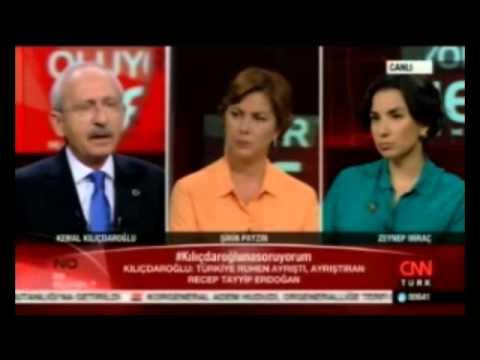 Kılıçdaroğlu ve Gazeteci Amberin Zaman, Türkiye'deki seçmeni canlı yayında böyle aşağıladı!