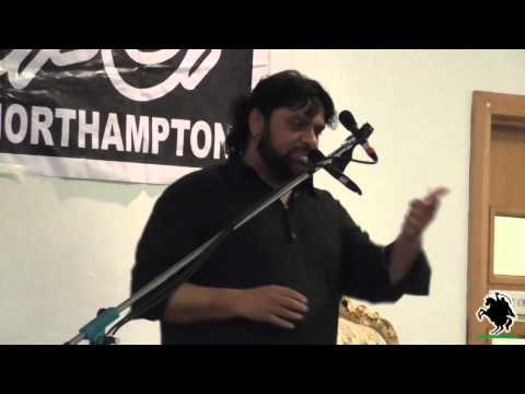 Zakir Shaukat Raza Shaukat - Shahadat Shahzada Ali Akbar (a.s) - Northampton (uk) - 3rd August 2014 video