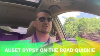 AusetGypsy On The Road Quickie Lets Talk Tarot PT Two