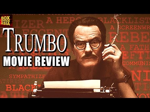 Trumbo Movie REVIEW | Bryan Cranston, Helen Mirren | Box Office Asia