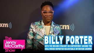 Billy Porter clarifies Hollywood Reporter controversy