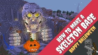 How to Make a Skeleton House in Minecraft: Halloween House in Minecraft by Avomance