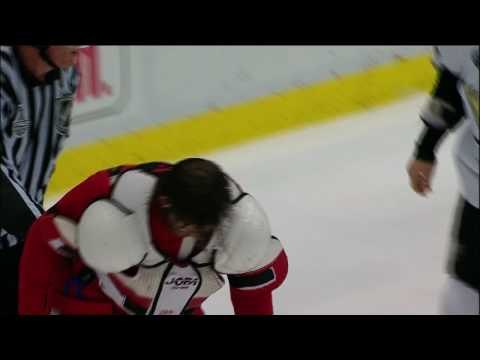 Stanley Cup Finals 2009 Game 2 - Malkin fights Zetterberg! Video