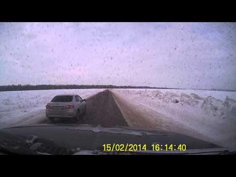 Авария на малой объездной 15.02.2014