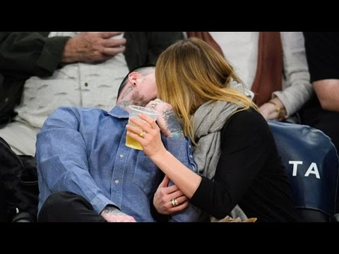 Newlyweds Cameron Diaz and Benji Madden Show Some Serious PDA Courtside