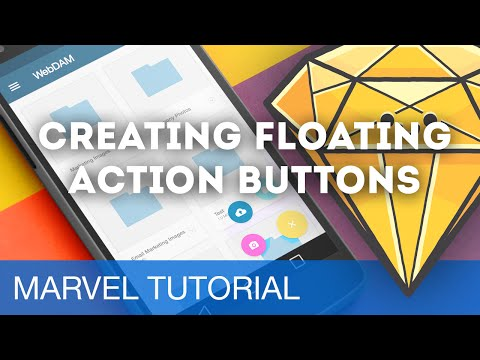 Creating Floating Action Buttons • Prototyping with Marvel (Tutorial)