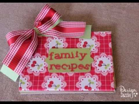 How to Make a Cookbook Scrapbook recommend