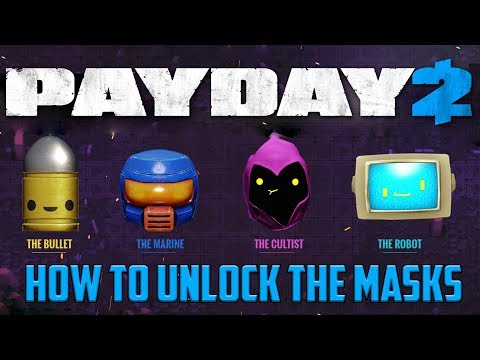 "PAYDAY 2 - How to Unlock ""Enter the Gungeon"" Masks"