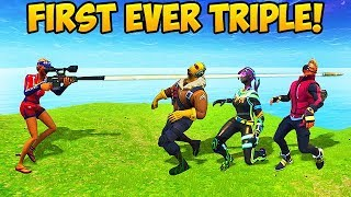 3 KILLS WITH 1 BULLET! - Fortnite Funny Fails and WTF Moments! #261 (Daily Moments)