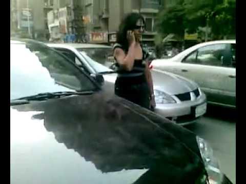 وقاحة بنت عميد شرطة