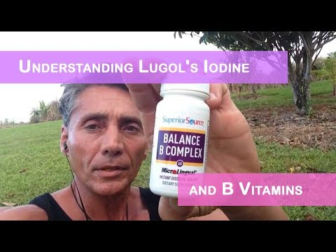 Dr Robert Cassar: Iodine, B complex, B-12 vitamins and some Philosopy in HD 2014