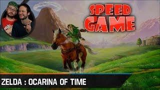 Speed Game: Live: The Legend of Zelda : OoT No/RBA No/WW en moins de 1h30 ? Marco