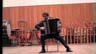 Ernesto Halffter Serenade for Dulcinea. Prof. Sergey Naiko (accordion) play