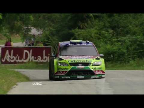 Ford WRC 2010 Rally Bulgaria Post Event