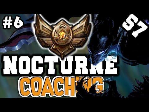 (LoL Coaching #6) NOCTURNE JUNGLE COACHING GUIDE (Bronze 3) - League of Legends Coaching [Season 7]