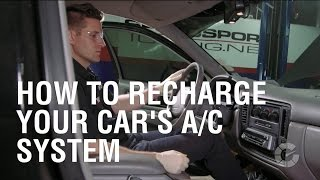 How To Recharge Your Car's A/C System | Autoblog Wrenched