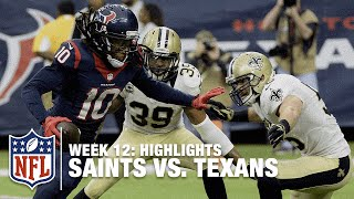 Saints vs. Texans | Week 12 Highlights | NFL